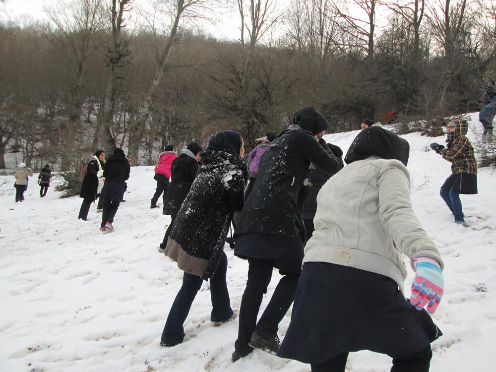 اردوی برف بازی - کیاسر