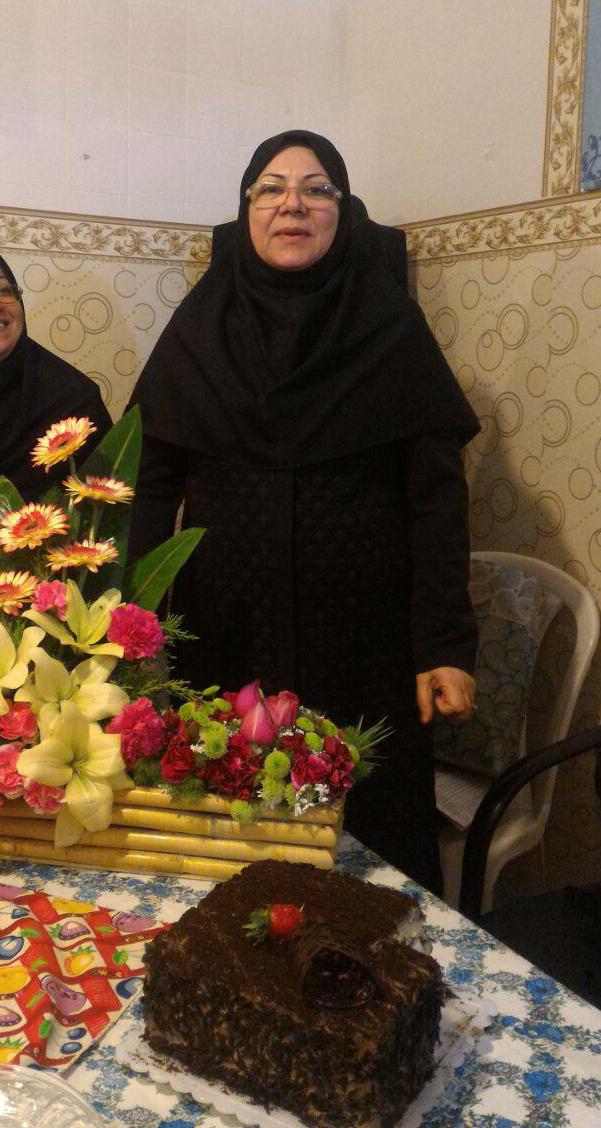 تولد مدیریت دبیـرستان - خانم محمودی